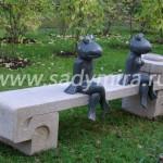 Скамейки и скульптуры 0362