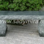 Скамейка садовая декоративная арт. J1